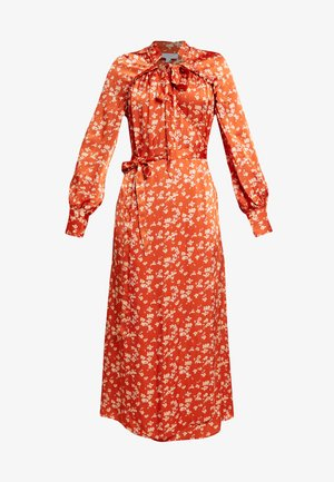LYN DRESS - Robe chemise - orange
