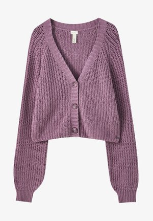Cardigan - dark purple