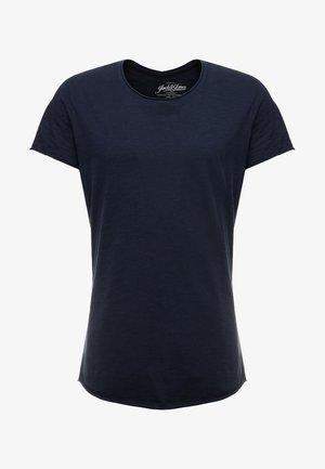 JJEBAS TEE - Jednoduché triko - navy blazer