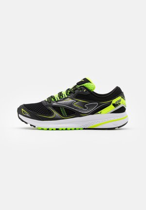 SPEED - Neutral running shoes - black/lemon