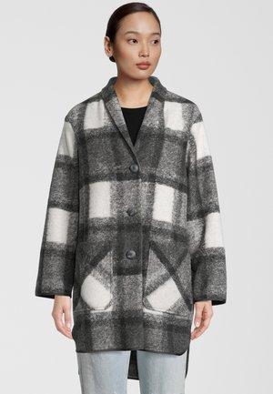 Short coat - schwarz weiss karo
