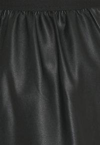 Vila - VIFALLA SHORT SKIRT - A-lijn rok - black - 2