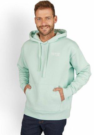 Hoodie - turquoise