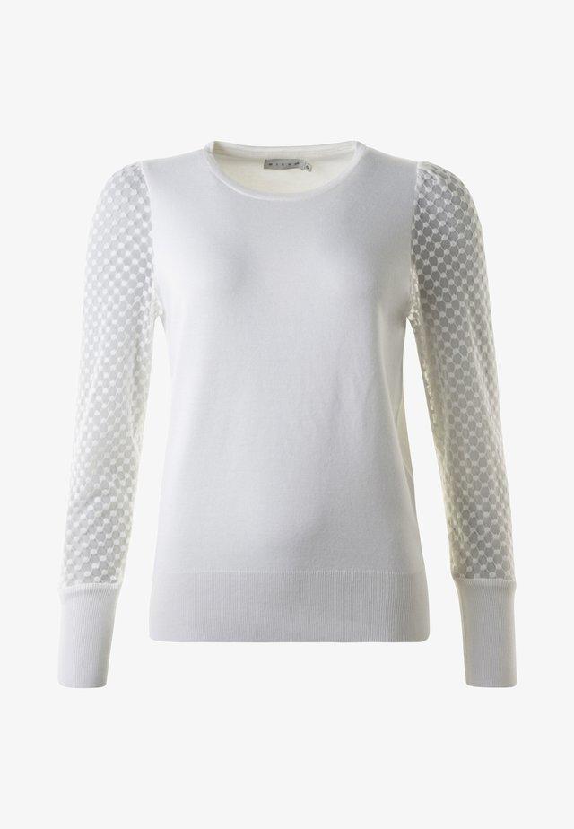 ADELE  - Stickad tröja - offwhite