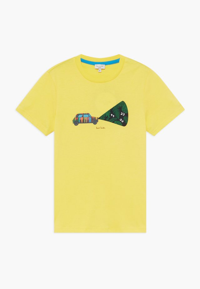 ABDEL - T-shirt imprimé - yellow