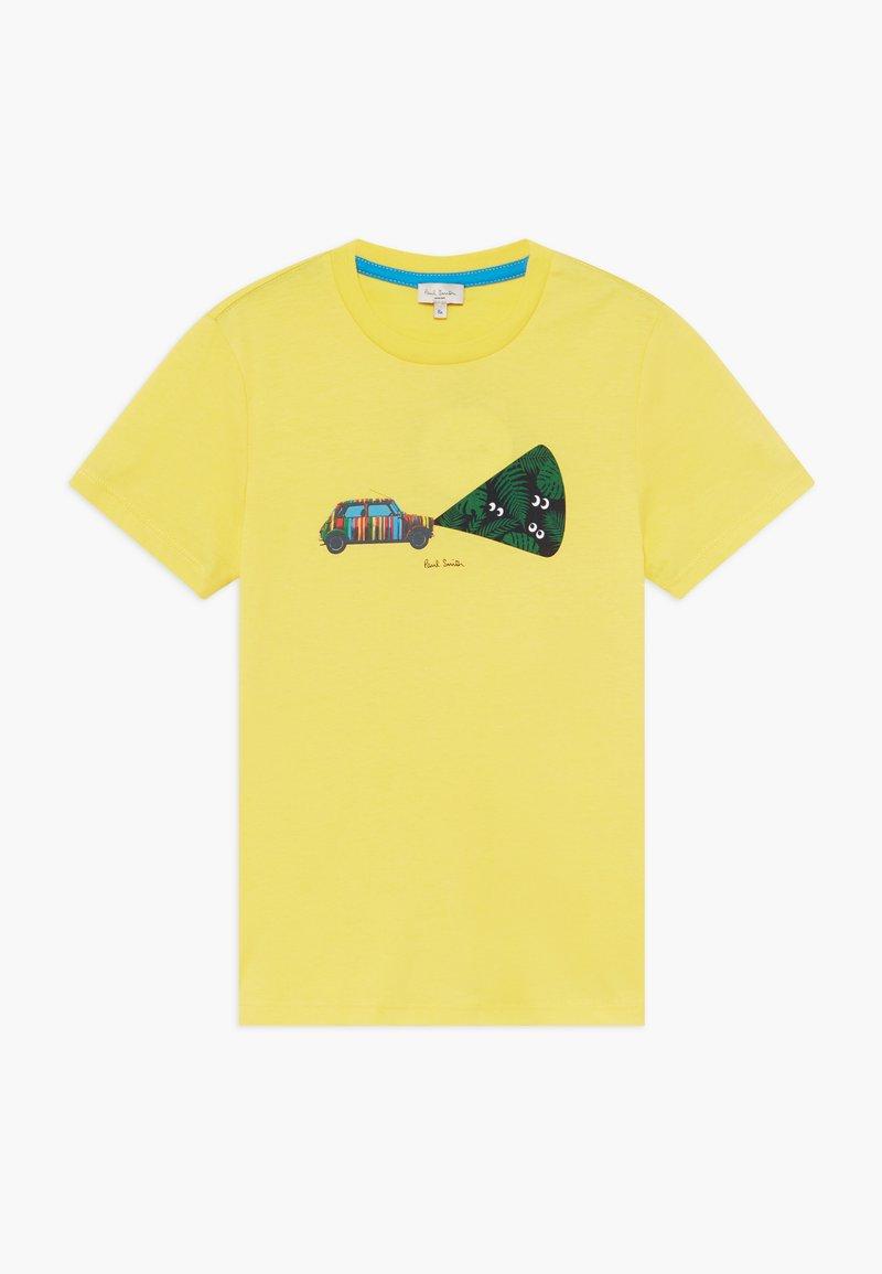 Paul Smith Junior - ABDEL - Print T-shirt - yellow