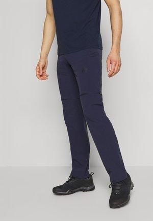 RUNBOLD ZIP OFF - Outdoorové kalhoty - marine