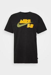Nike SB - TEE LOGO UNISEX - Print T-shirt - black - 3