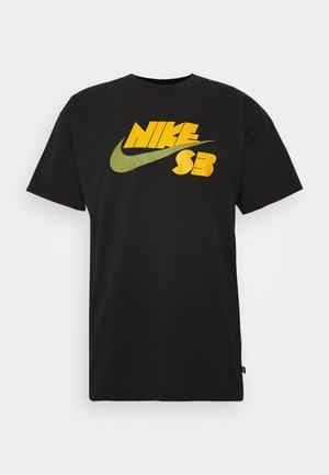TEE LOGO UNISEX - T-shirt med print - black