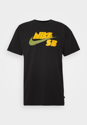 TEE LOGO UNISEX - T-shirts print - black