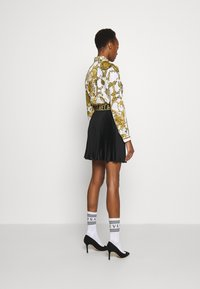Versace Jeans Couture - SKIRT - A-line skirt - white/gold - 4