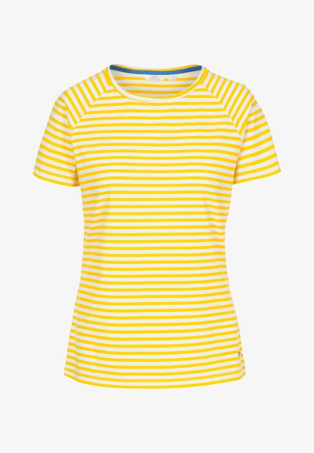 ANI SUNSHINE - Print T-shirt - yellow