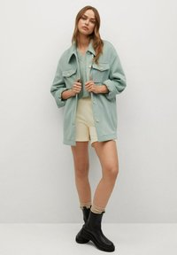 Mango - CAKE - Button-down blouse - mint green - 1