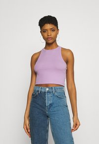 Even&Odd - 2 PACK - Top - black/lilac - 1