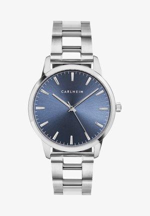 Horloge - silver/blue