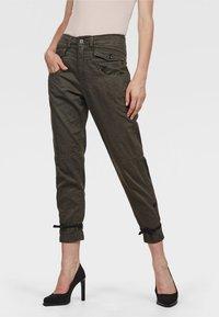 G-Star - ARMY RADAR BOYFRIEND STRAP - Trousers - gray - 0