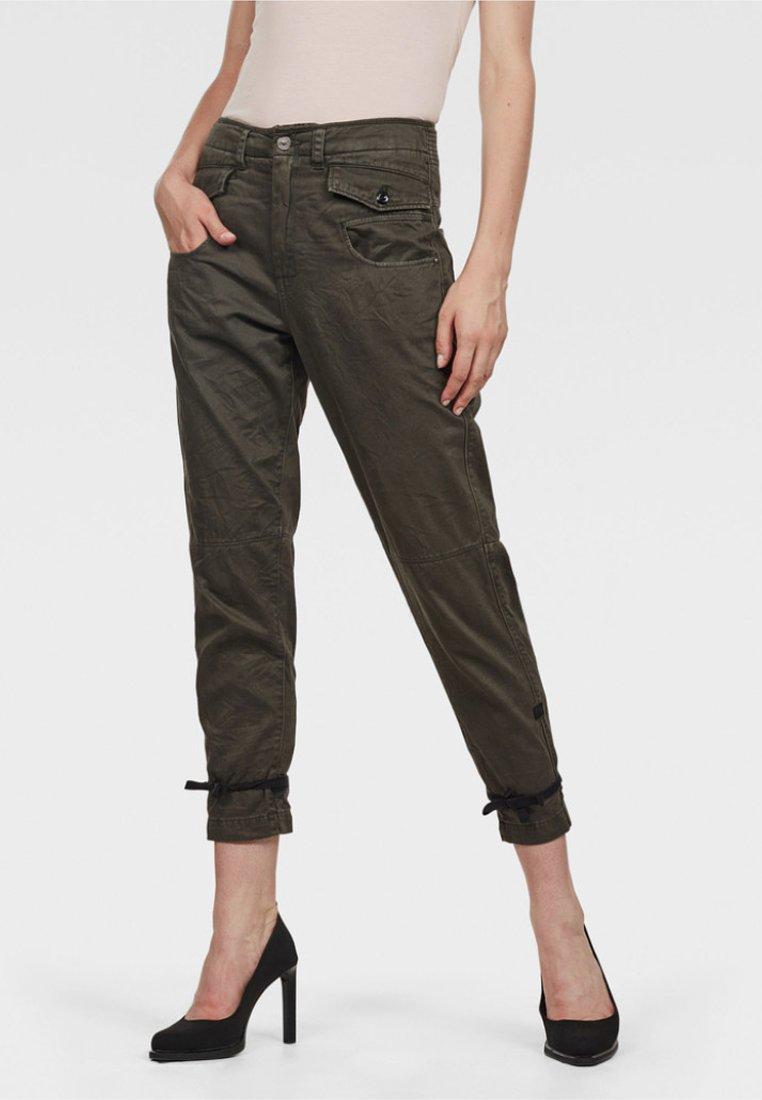 G-Star - ARMY RADAR BOYFRIEND STRAP - Trousers - gray