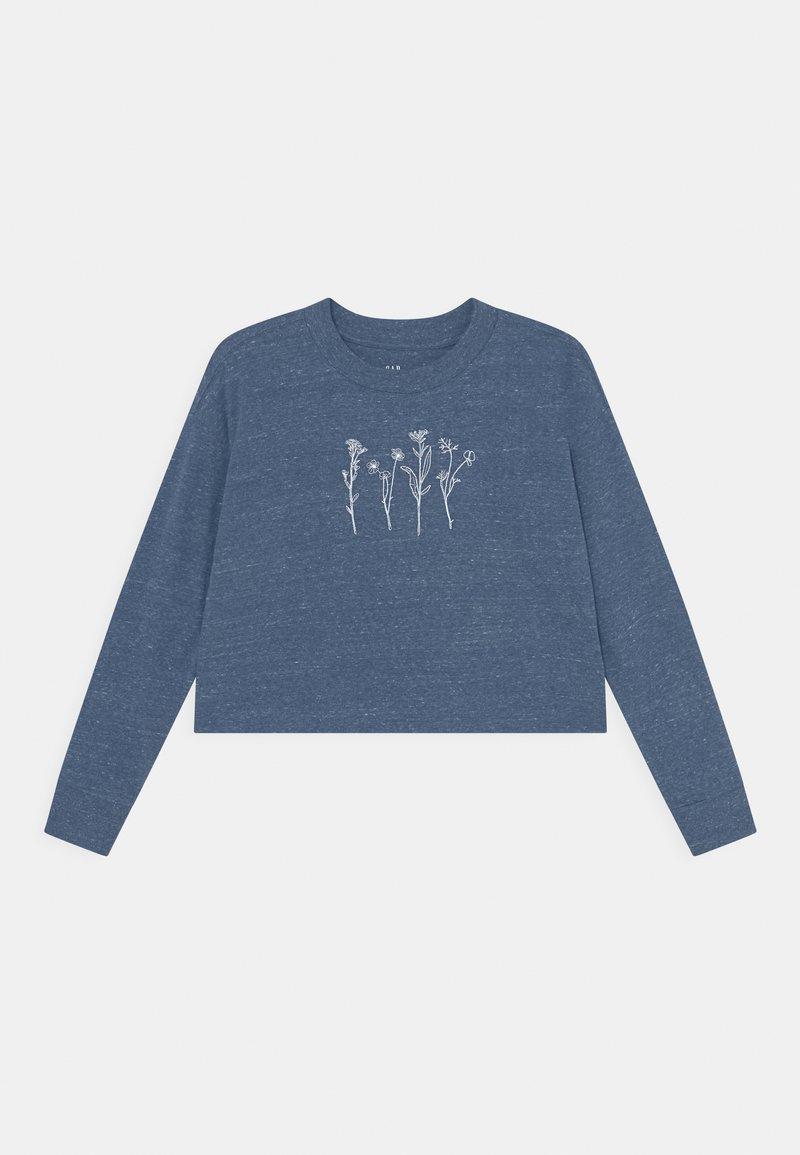 GAP - Long sleeved top - blue heather