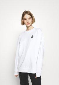 HUGO - DASHIMARA - Sweatshirt - white - 2