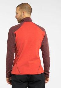 Haglöfs - HERON  - Fleece jacket - habanero/maroon red - 1