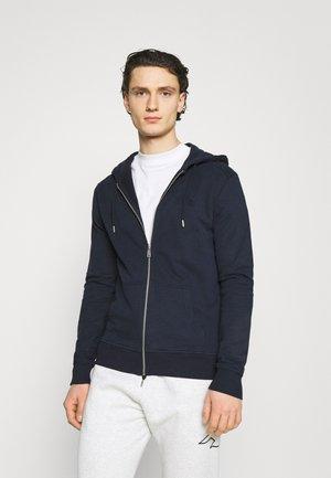 BASIC  - Zip-up hoodie - navy