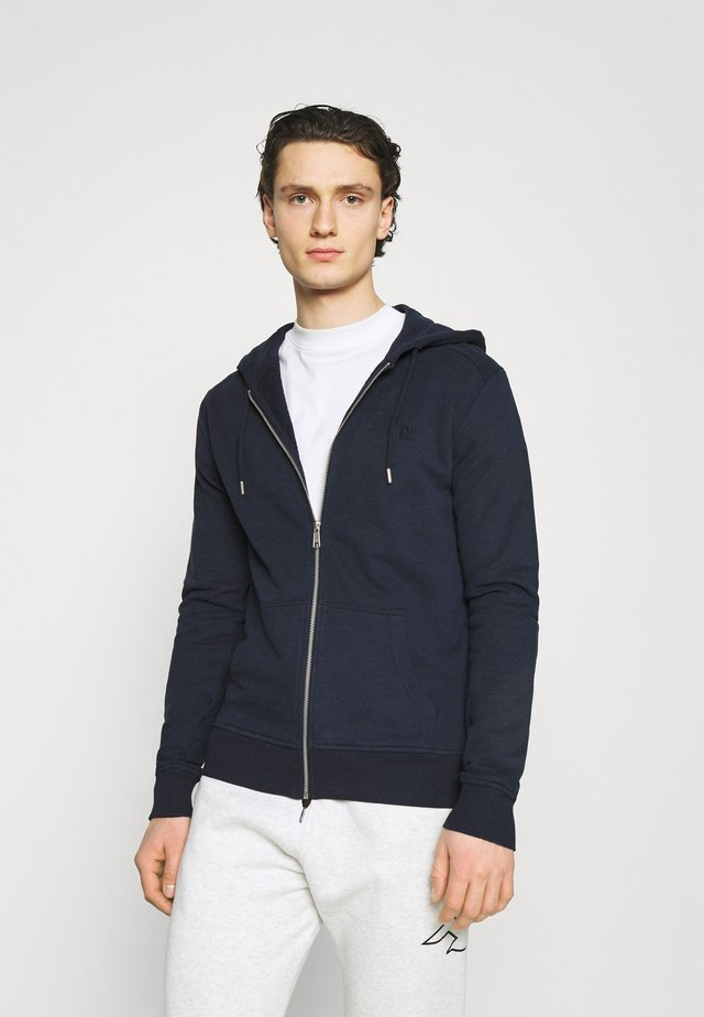 BASIC  - Mikina na zip - navy