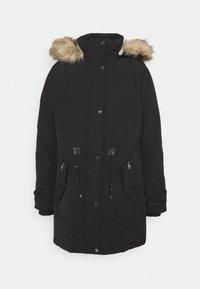 OXFORD - Kabát zprachového peří - black
