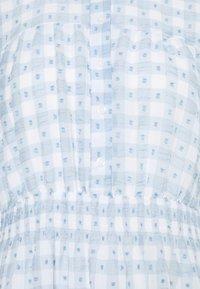 ONLY - ONLPLUM 3/4 DRESS  - Vestido camisero - blue fog/cloud dancer - 2