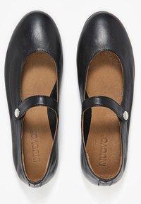 Inuovo - Ankle strap ballet pumps - black blk - 4