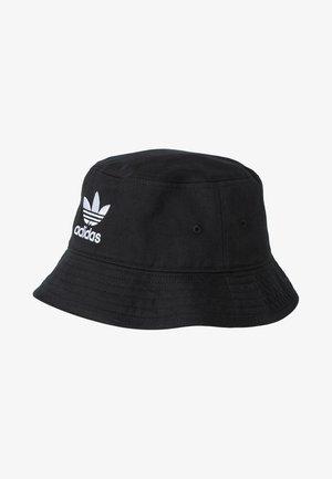 BUCKET HAT UNISEX - Klobouk - black/ white