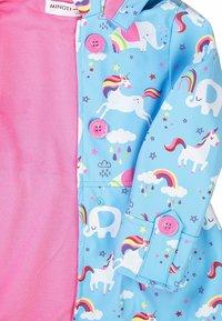 MINOTI - Waterproof jacket - light blue pink - 2