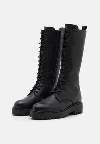 Zign - Lace-up boots - black - 2