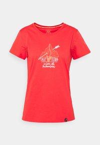 La Sportiva - ALAKAY  - T-shirt con stampa - hibiscus - 4