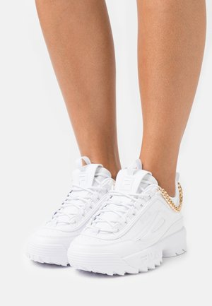 DISRUPTOR CHAIN - Trainers - white/gold