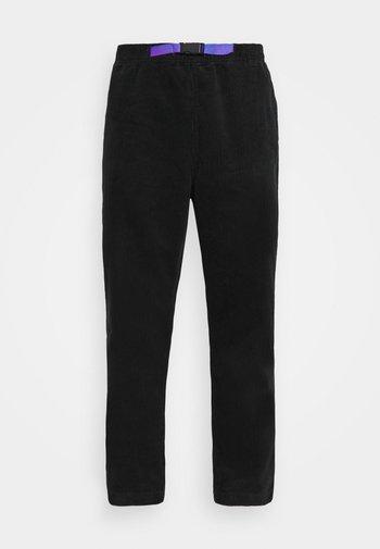 TRAIL PANT - Trousers - black
