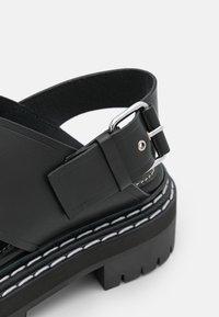 Proenza Schouler - LUG SOLE - Sandály na platformě - black - 6
