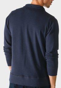 mey - MIT REISSVERSCHLUSS - Zip-up sweatshirt - blue - 1