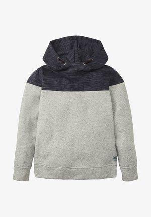 Hoodie - drizzle melange|gray