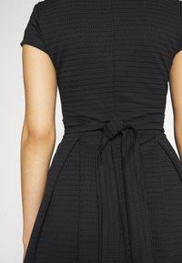 WAL G. - BRIEGE SKATER DRESS - Day dress - black - 5