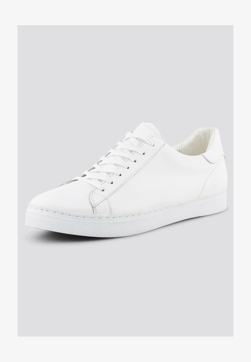TOM TAILOR - Casual lace-ups - white