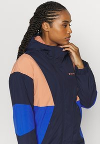 Columbia - EUROCARVEJACKET - Chaqueta outdoor - nova pink/lapis blue/dark nocturnal - 5