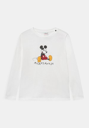 BIG MICKEY MOUSE - Longsleeve - snow white