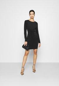 Vero Moda - VMAMIRA DRESS - Day dress - black - 1