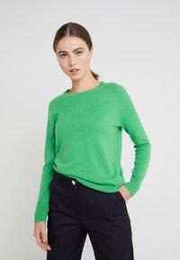 pure cashmere - CLASSIC CREW NECK  - Svetr - green - 0
