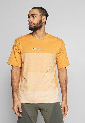 ROCHESTER ECO SOUL - T-shirt z nadrukiem - mustard yellow