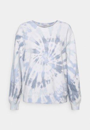 LOGO CREW - Sweatshirt - blue rope wash