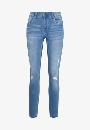 VMSEVEN SHAPE UP  - Jeans Skinny Fit - light blue denim