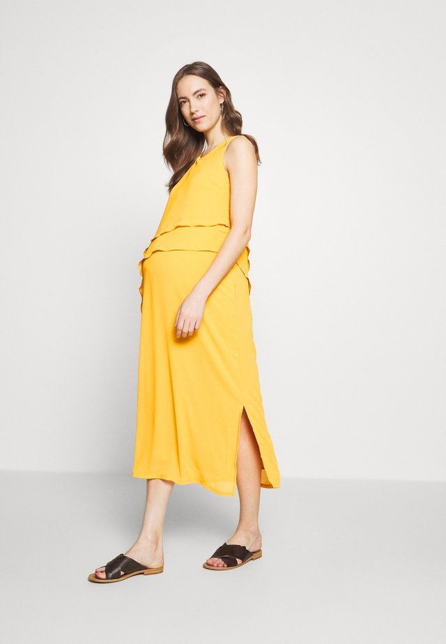 DELJA DRESS - Robe d'été - yellow