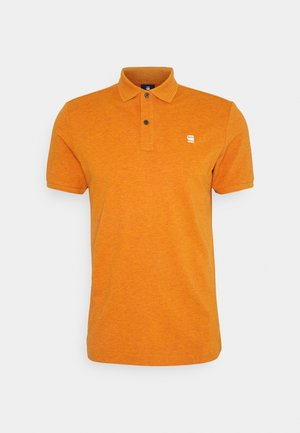 DUNDA SLIM POLO S\S - Poloskjorter - amber heather