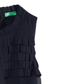 Benetton - DRESS - Cocktailjurk - dark blue - 2